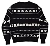 Ralph Lauren Black Label Mens Indian Crewneck Sweater Cashmere Linen Cotton