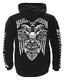 Harley-Davidson Men's Lightning Crest Pullover