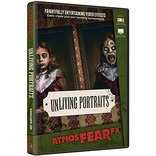 AtmosFX UnLiving Portraits Halloween Digital Decorations]()