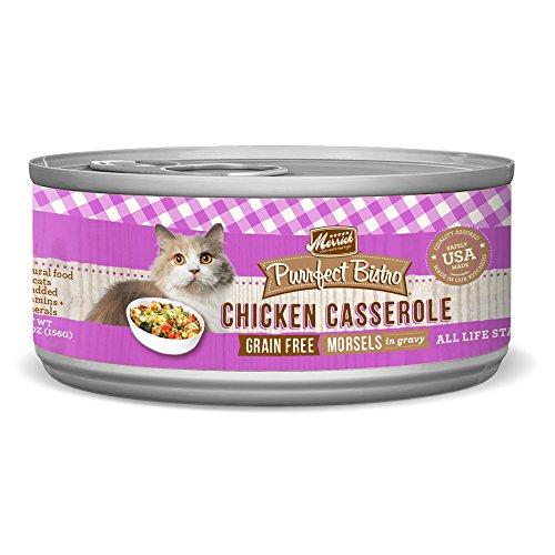 Merrick Purrfect Bistro Grain Free, 5.5 oz, Chicken Casserole - Pack of 24