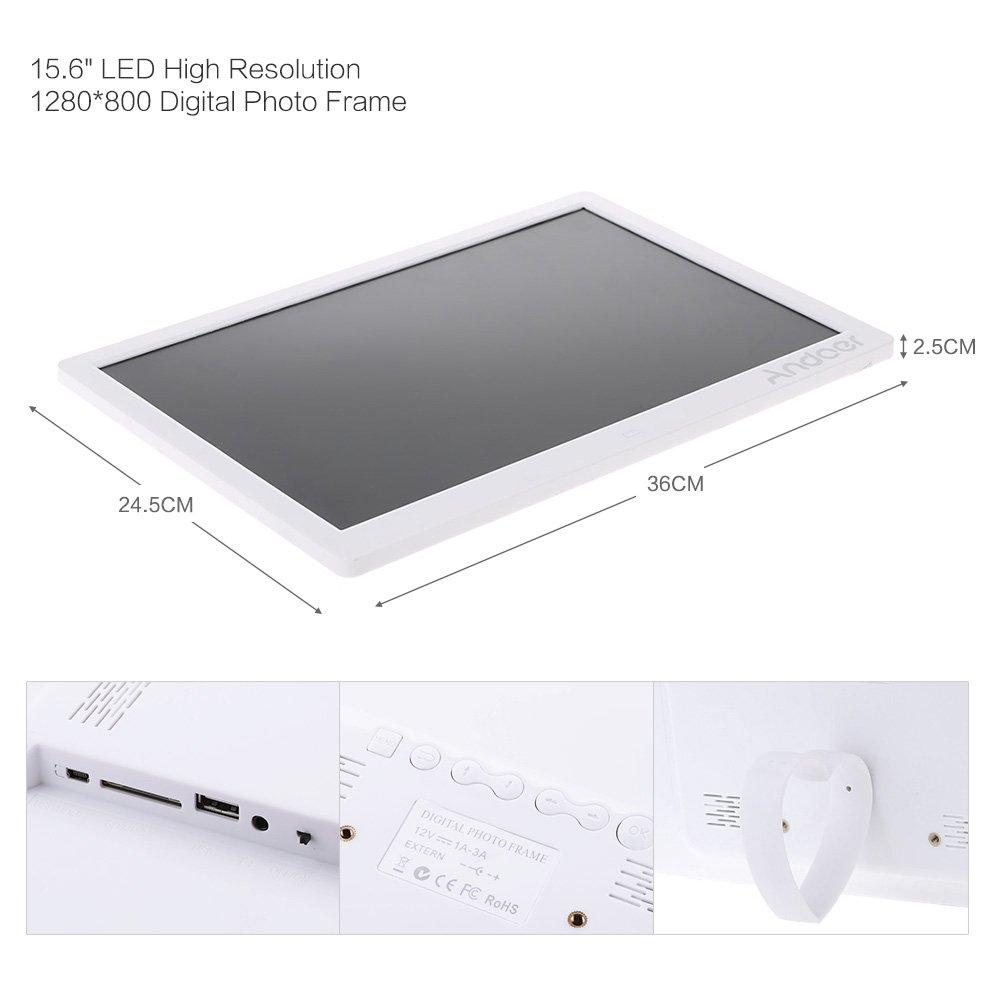 Andoer 15.6 inch High Resolution 1280*800 LED Digital: Amazon.co.uk ...