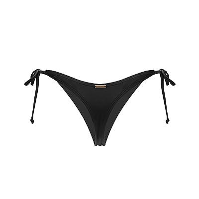 RELLECIGA Women's Tie Side Thong Bikini Bottom: Clothing