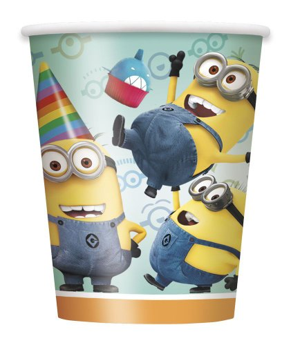 Despicable Costume Me Uk Minion (9oz Despicable Me Paper Cups,)