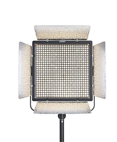 YONGNUO YN860 単色 LEDビデオライト 定常光ライト 600球搭載 5500K 11466LM大光量 照明撮影ライト リモコン付き 電池ACアダプター別売り   B0762D3416