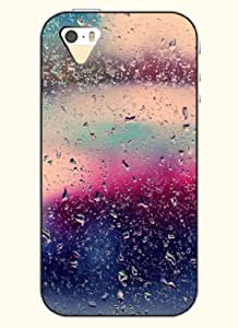 OOFIT Phone Case Design with Rindrops on the Windows for Apple iPhone 4 4s 4g