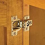 Salice® Excen-Three Hinges, 106 Degree Opening, 1/2