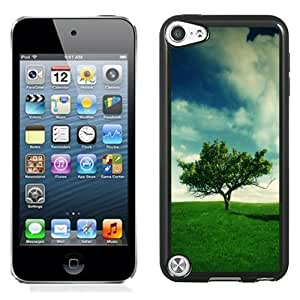 New Personalized Custom Designed For iPod Touch 5th Phone Case For Alone Tree On The Green Meadow Phone Case Cover