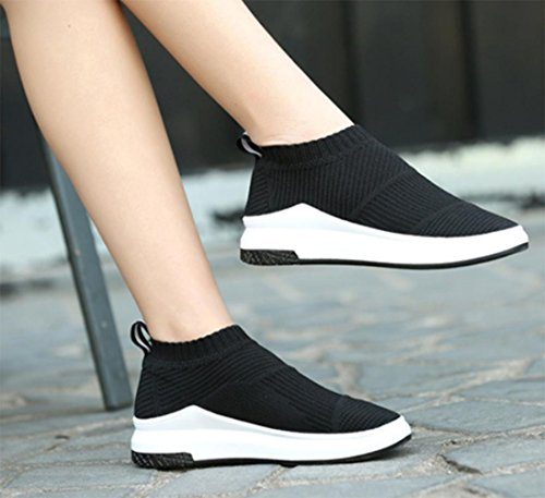 Chaussures automne à bout pointu blanches Sportives femme VKDnrXYt