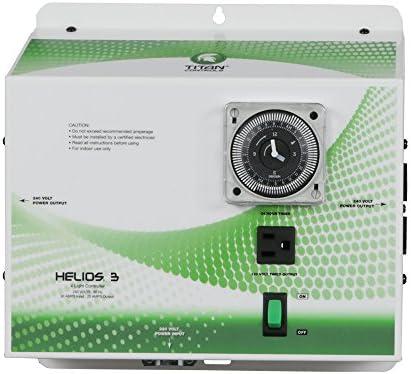 Titan Controls 4-Light Controller w Timer, 240V – Helios 3