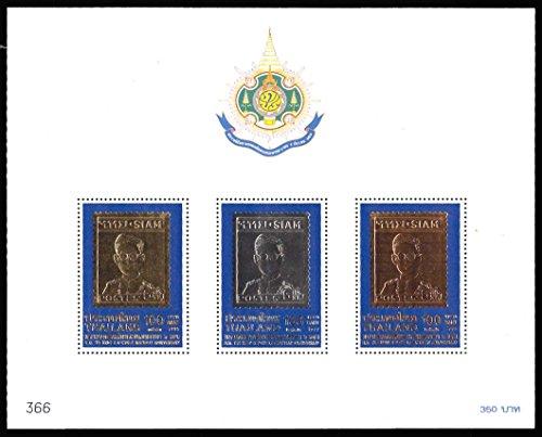 Thailand Stamp Sheet - 7