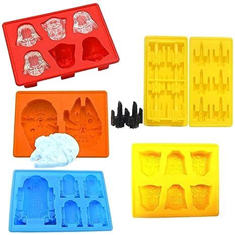 IDEA HIGH A1: 1 molde creativo de Star Wars Darth Vader para galletas, chocolate
