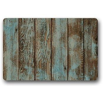 Charmant Popular Rustic Old Barn Wood Art Doormat Door Mat Rug Indoor/Outdoor/Floor  Mat