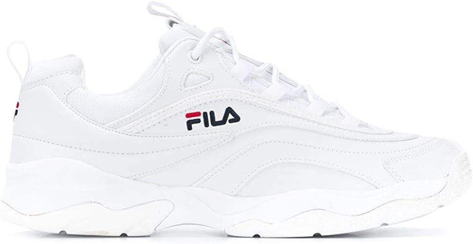Luxury Fashion | Fila Hombre 10105611FG Blanco Zapatillas | Temporada Outlet: Amazon.es: Zapatos y complementos