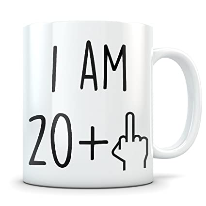 21st Birthday Gift For Women And Men Mug 21 Year Old Gifts Happy
