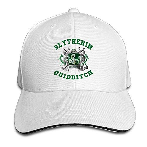 NUBIA Harry Potter-Slytherin Quidditch 5 Sunbonnet Hat Flex Fit Cap (Jar Top Bonnet)