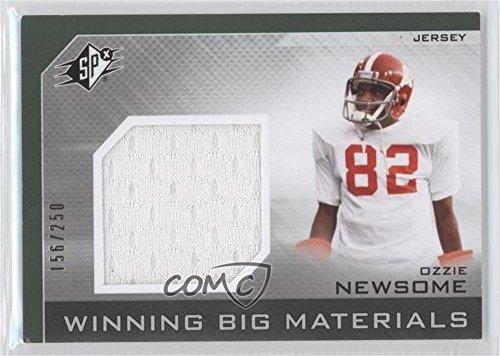 Ozzie Newsome #156/250 (Football Card) 2013 SPx - Winning Big Materials #WB-ON