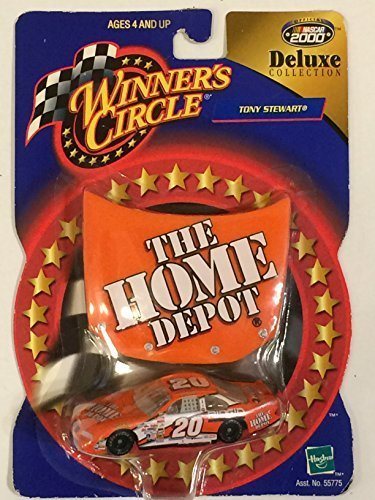 Winner's Circle Deluxe Collection Tony Stewart Home Depot Car from Winners Circle