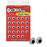 Accoutrements Googly Eyes Push Pins by Accoutrements
