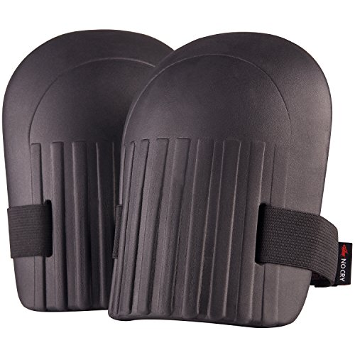 - NoCry Home & Gardening Knee Pads - with Lightweight Waterproof EVA Foam Cushion, Soft Inner Liner, and Easy Fit with Adjustable Hook'n'Loop Straps
