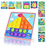 NextX Button Art Preschool Learning Toys Color Matching Puzzle Games Best Gift