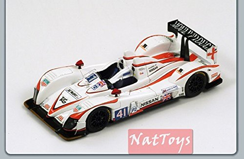Spark Model S2533 ZYTEK Nissan N.41 8th LM 2011 Winner LMP2 Class 1:43 DIE CAST