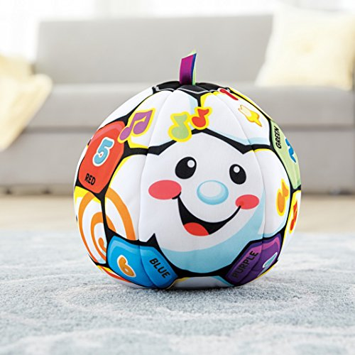 51y0 ecCkYL - Fisher-Price Laugh & Learn Singin Soccer Ball