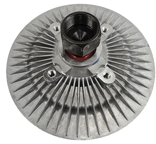 TOPAZ 52027884 Engine Cooling Thermal Fan Clutch for 92-06 Ram Jeep Wrangler 2.4L 2.5L 3.9L 4.0L 5.2L 5.9L
