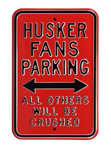 Steel Parking Sign: