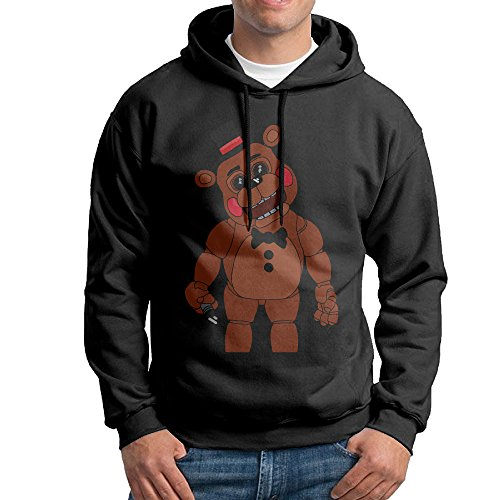 Official Five Nights At Freddy's Part Of The Show Men's Hoodie (S) (Slipknot Official Masks)
