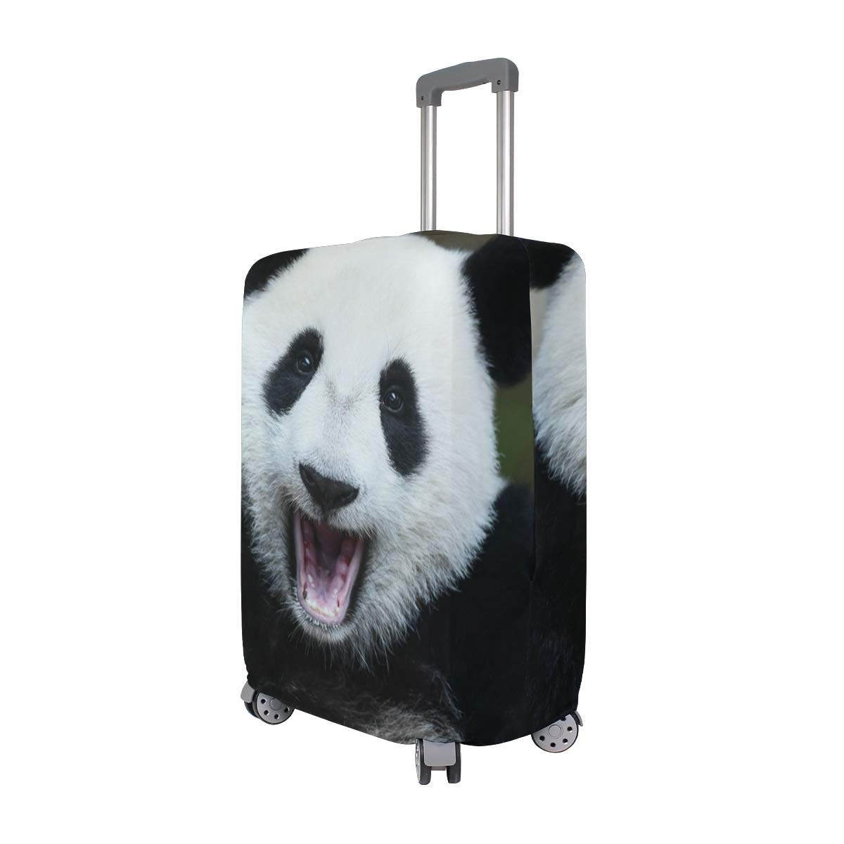 Baggage Covers Chinese Panda Happy Say Hello Washable Protective Case
