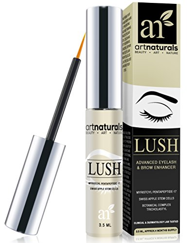 Art-Naturals-Eyelash-Growth-Serum-35ml-Thicker-Longer-Eyelashes-Eyebrows-Enhancer-with-LUSH-Dermatologist-Tested-Product-Revolutionary-Pentapeptide-17-Swiss-Apple-Stem-Cells-2016