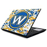 Skinit NBA Golden State Warriors Inspiron 15 3000 Series Skin - Golden State Warriors Digi Camo Design - Ultra Thin, Lightweight Vinyl Decal Protection