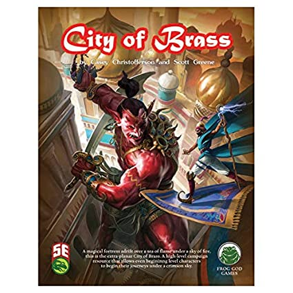 5E: The City of Brass