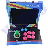 mini arcade machines for sale - Retro Mini Arcade Machine with 1299 Classic Video Games, Pandora Box 5s Plus Plug and Play Mini Arcade Game Cabinet Machine with 10.4