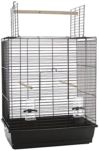Black 54 x 34 x 68 Black 54 x 34 x 68 Beeztees Bird Cage Big Ara Open, 54 x 34 x 68, 5 cm, Black