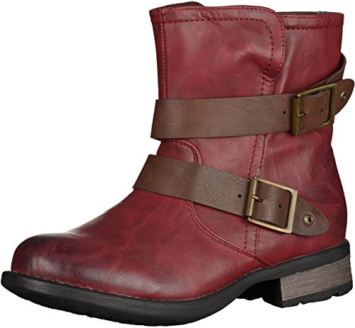 Rieker 97284 Womens Booties rot 9YXvgT