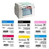 Fujifilm Frontier-S DX100 Inkjet Photo Printer - With Ink Bundle Consists Of Fuji DX VIVIDIA Ink Cartridge 200 ML Black / Cyan / Magenta / Yellow / Skyblue / Pink