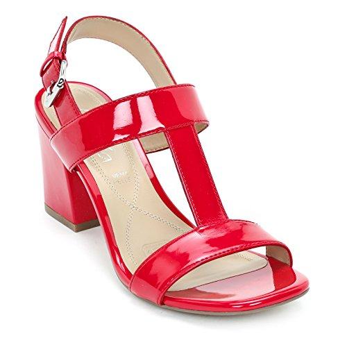 8 Tacón Ancho Con Scarpe Cm Tacones Bar Alesya T Amp;scarpe Rojo l1TFJcK