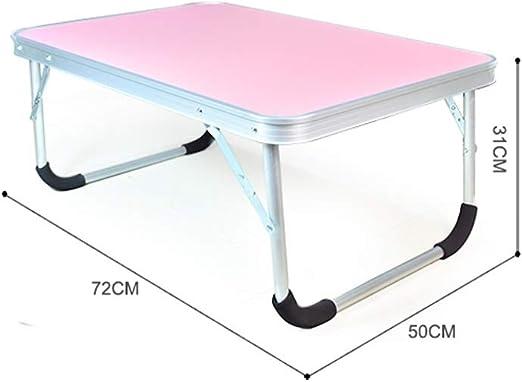 Mesa for portátil Mesa plegable de aluminio perezosa Mesa de ...