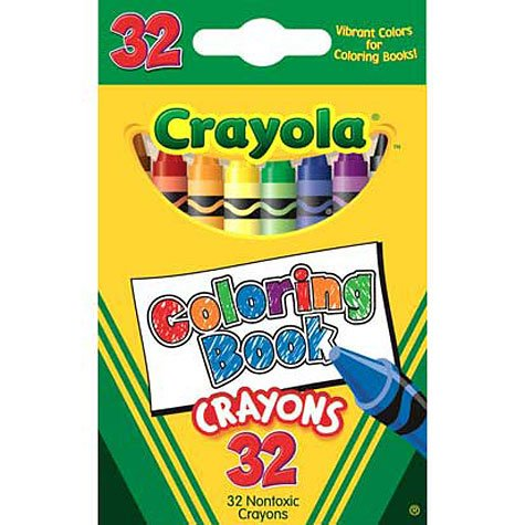Amazon.com: Coloring Book Crayons 32ct: Toys & Games