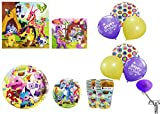 Animal Jam 16 Count Party Supply With Balloons