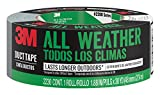 Office Products : 3M All Weather Duct Tape, 2230-HD, 1.88 Inches by 30 Yards