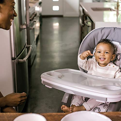 Ingenuity SmartServe 4-in-1 High Chair with Swing Out Tray – Clayton – High Chair, Toddler Chair, and Booster by Ingenuity (Image #9)