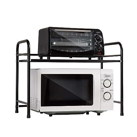 Estante de cocina Unidades de estanterías Microondas ...