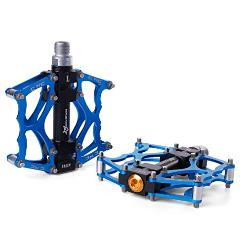 Rockbros-Pedales-Rodamiento-Aluminio-Bicicleta-Moto-MTB-Montaera-BMX-Plataforma-916-CS52
