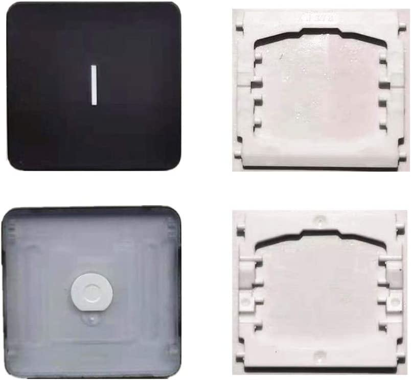 Replacement Individual I Key Cap and Hinges are Applicable for MacBook Pro 13&16inch Model A1989 A1990 and for MacBook Air Model A1932 Keyboard to Replace The I Keycap and Hinge