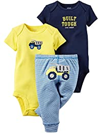 "Carter's Baby Boys' 3 Piece""Take Me Away""Set (Baby) - Awesome Lil Dude"