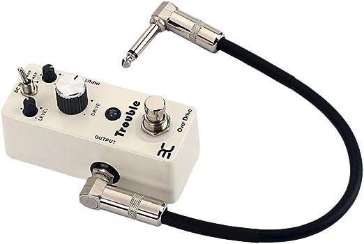 LIOOBO Mini Amplificador Guitarra Efectos Amplificador de Salida ...