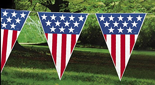 Fun Express Patriotic Pennant Banner product image