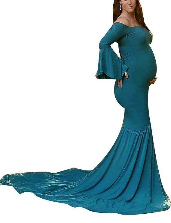 Mujeres Embarazadas Vestidos De Noche Elegante